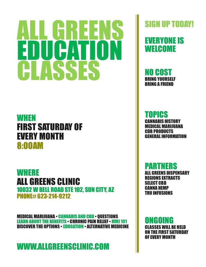 All Greens Clinic | MMJ Certification Doctor in Sun City, AZ